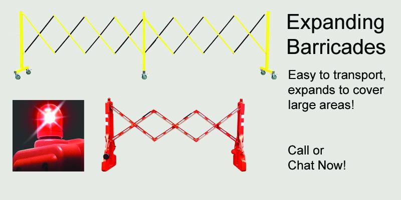 Expandable Barricades