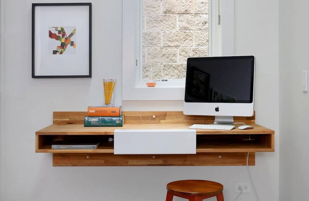MASH Studios LAX Series Wall Mounted Desk