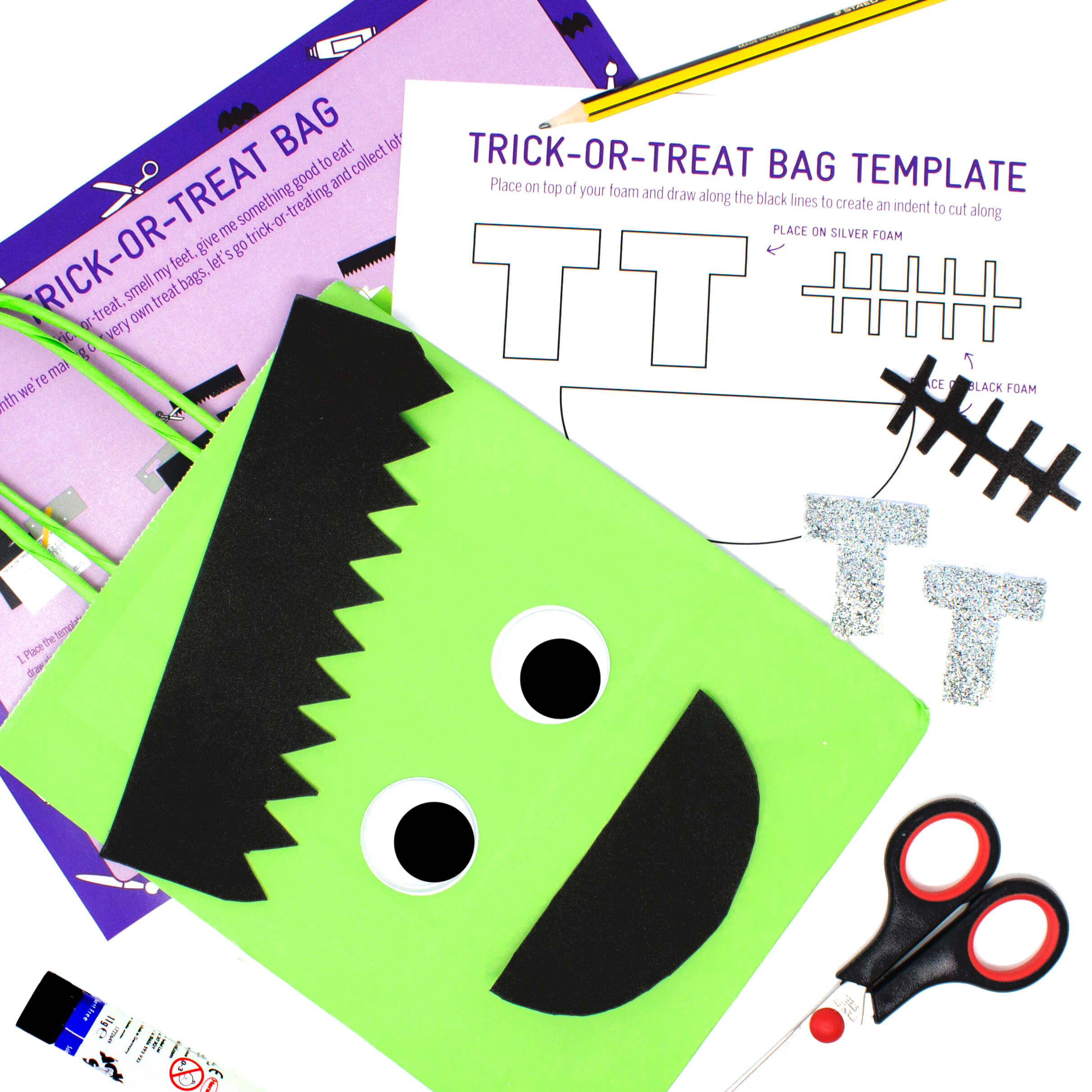 Haunted House Halloween Activity Box for Kids