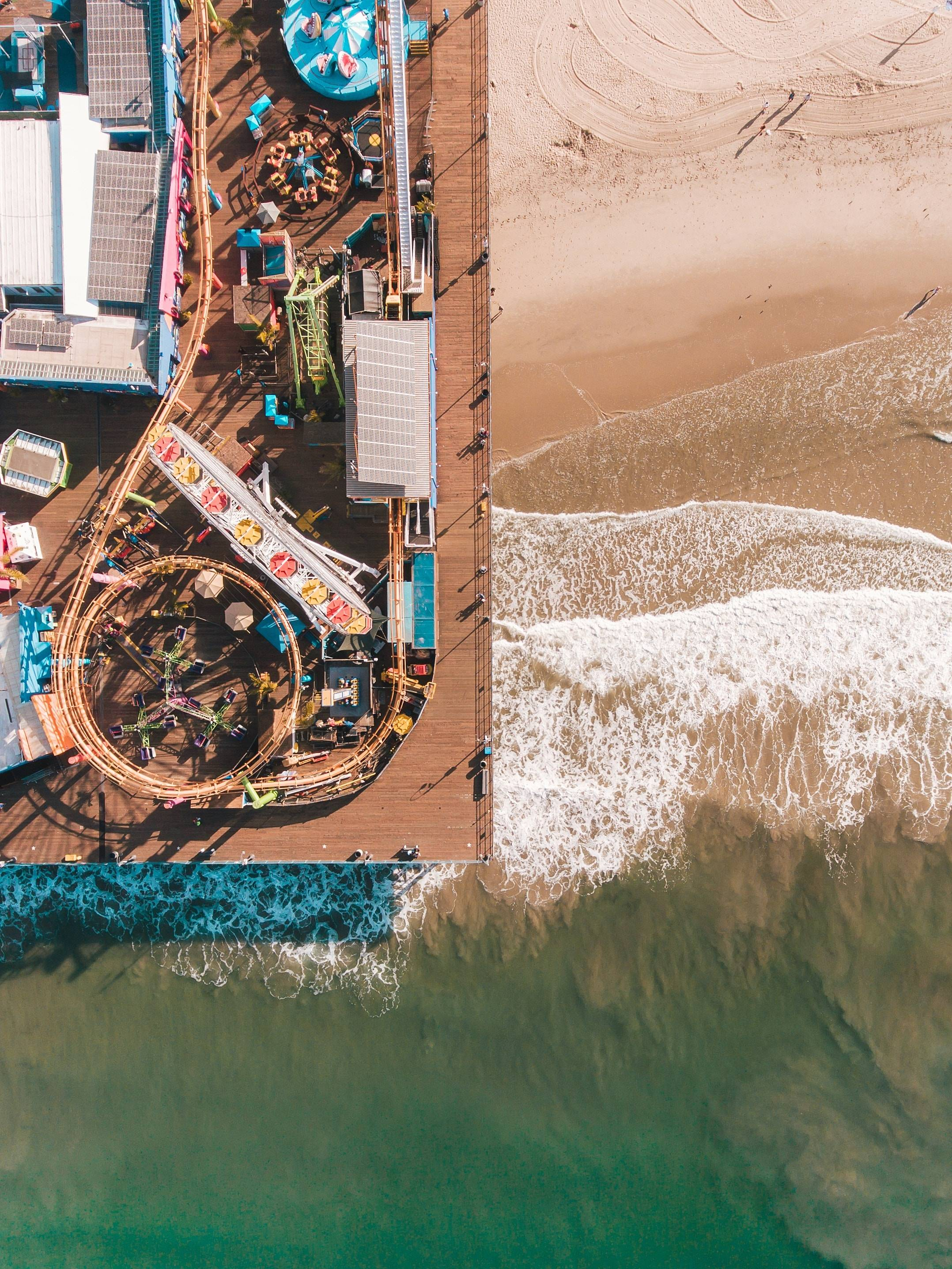 Aeries View of Santa Monica Pier