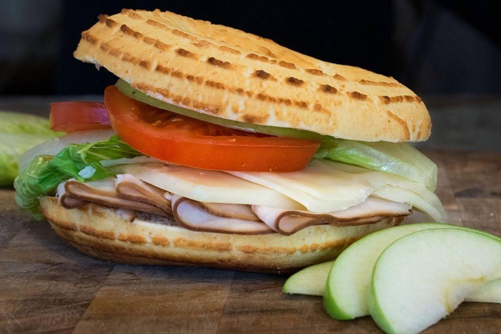 Turkey Apple Bagelinos Sandwich
