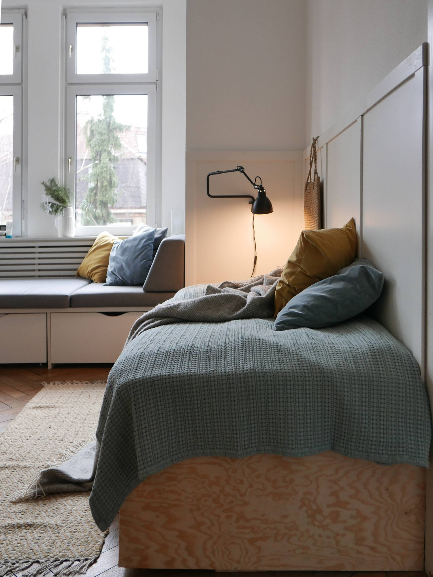 Gästezimmer Tagesdecke 100% Baumwolle