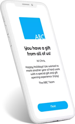 UnWrapIt can partner with a range of corporate gifting companies to create a branded gift experience.