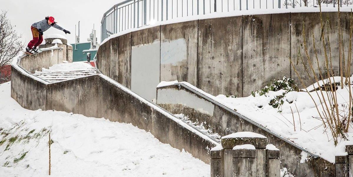 Erik Leon Snowboarding
