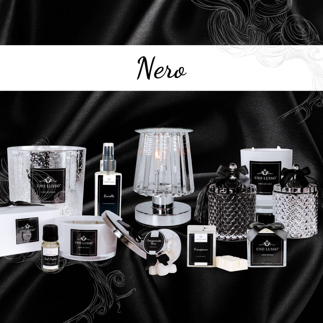 Nero Luxury Home Fragrance Collection By Uno Lusso
