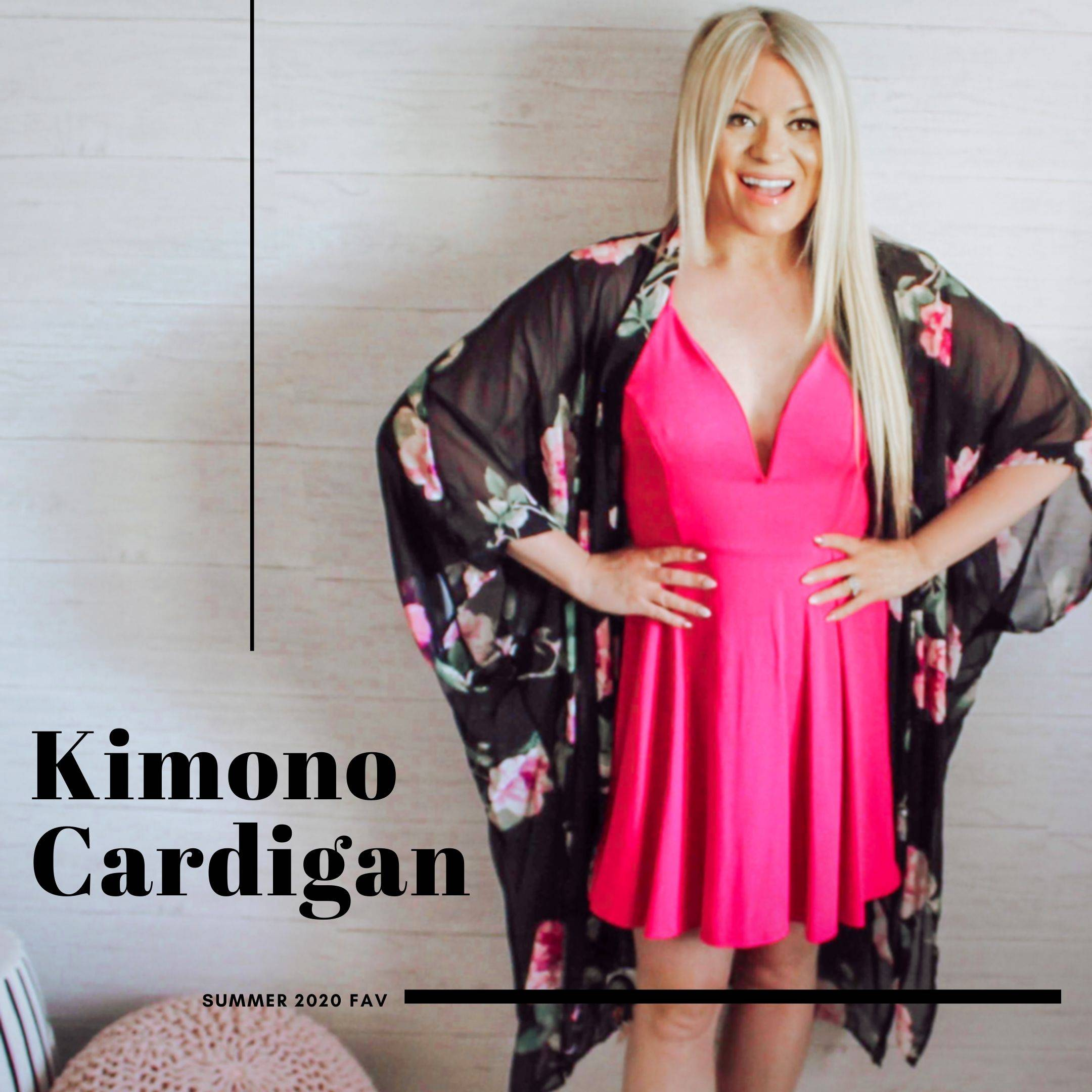 the best style from oak and pearl kimono cardigan