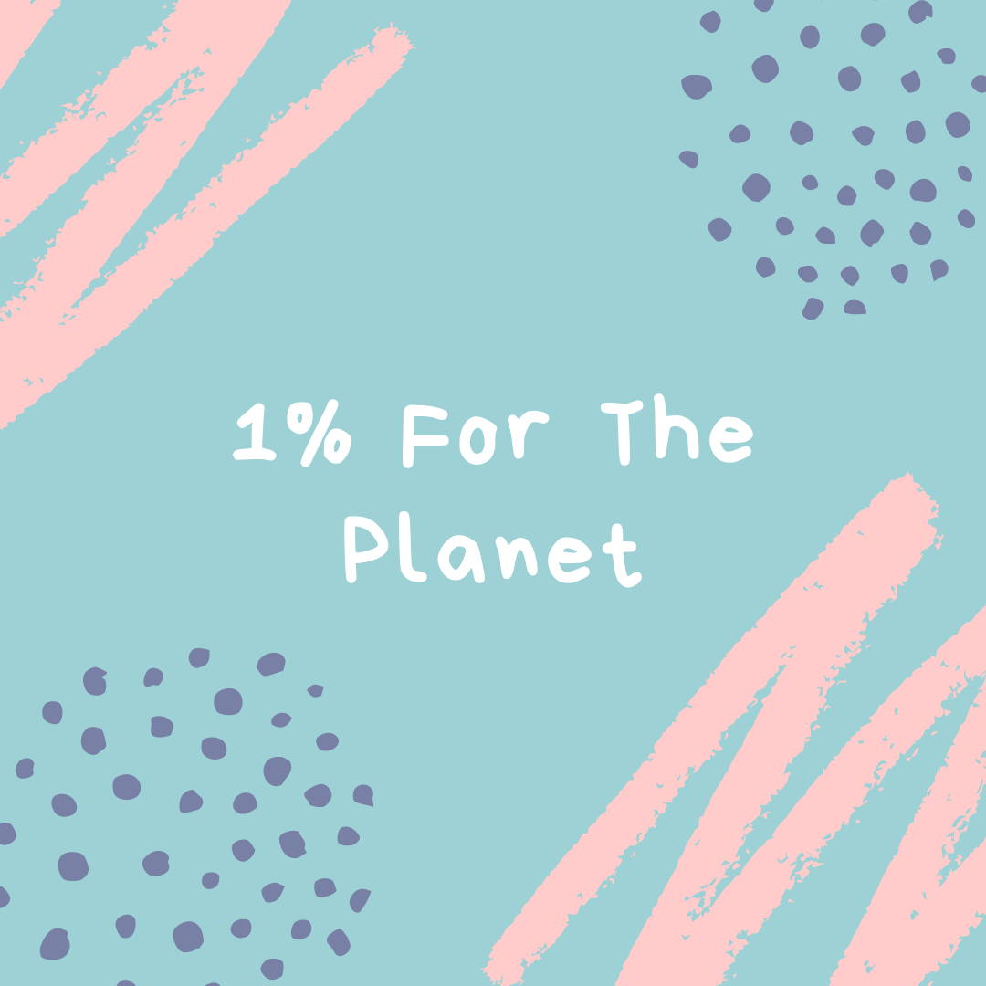 We have partnered with 1% for the Planet to connect us to causes most important to Toddles