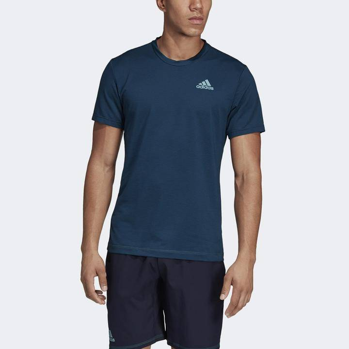 adidas Parley stripe tee men's