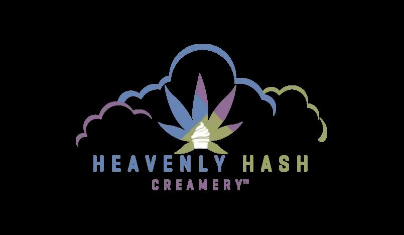 Heavenly Hash Creamery Logo