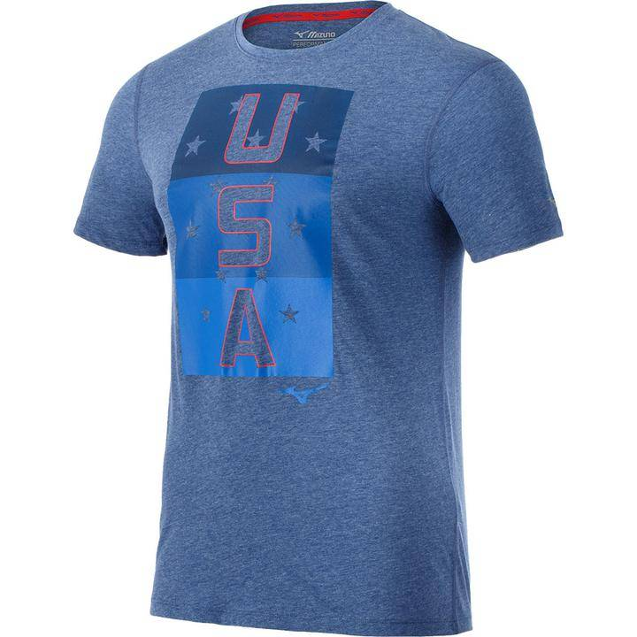 Mizuno Patriot Pack Inspire USA Tee Men's
