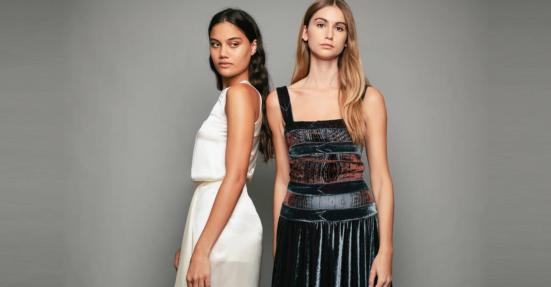 PENDA • Luxury Designer Fashion  • Frida Kahlo velvet dress • Festive Satin Top • Campaign • Studio • Collection SS21