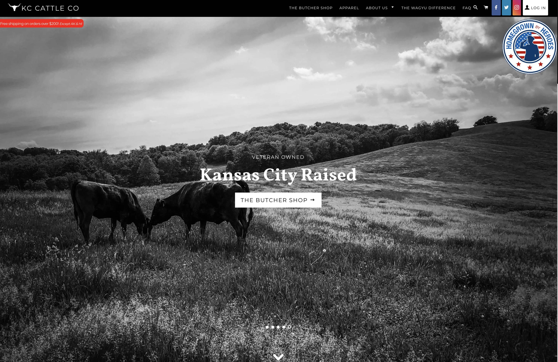 KC Cattle Co Website