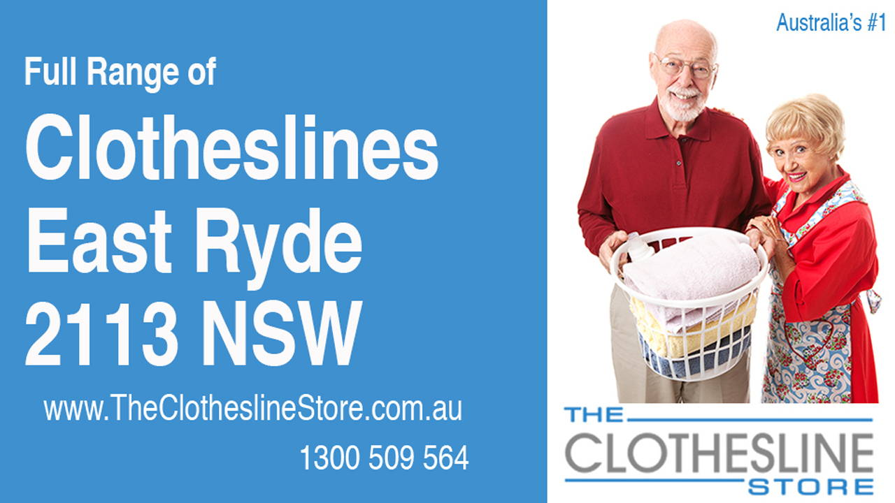 Clotheslines East Ryde 2113 NSW