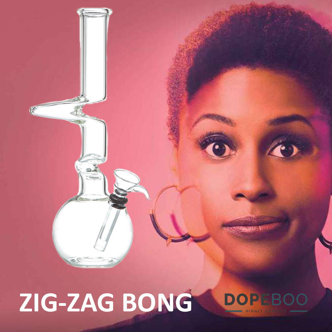 2018 Emmys with HBO Insecure Issa Rae + Zig-Zag Bong for the 2018 Emmys - DopeBoo.com