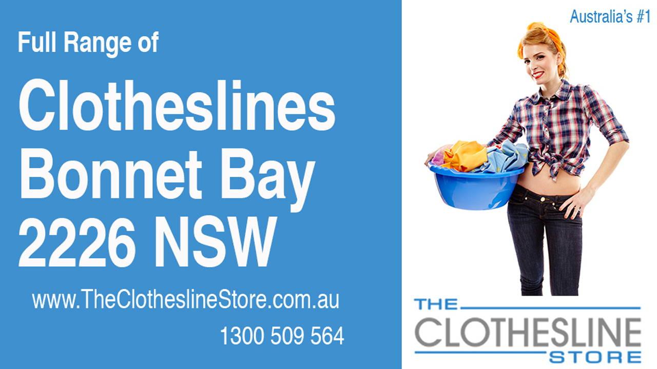 Clotheslines Bonnet Bay 2226 NSW