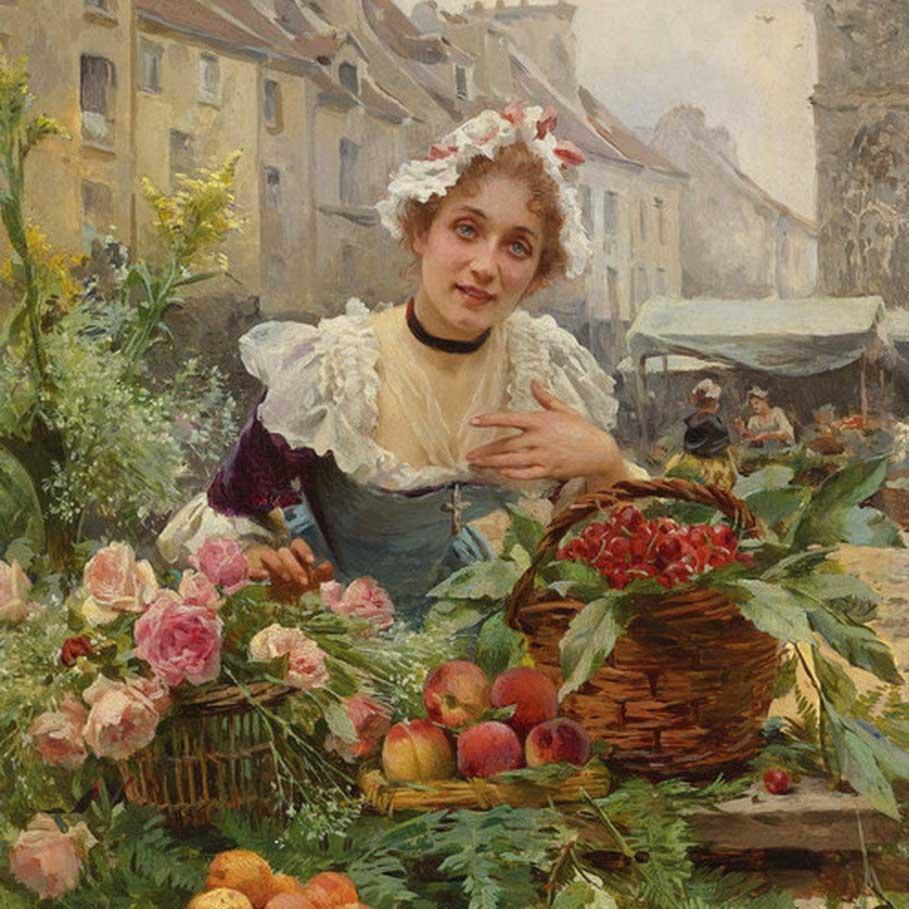 Louis Marie de Schryver Art
