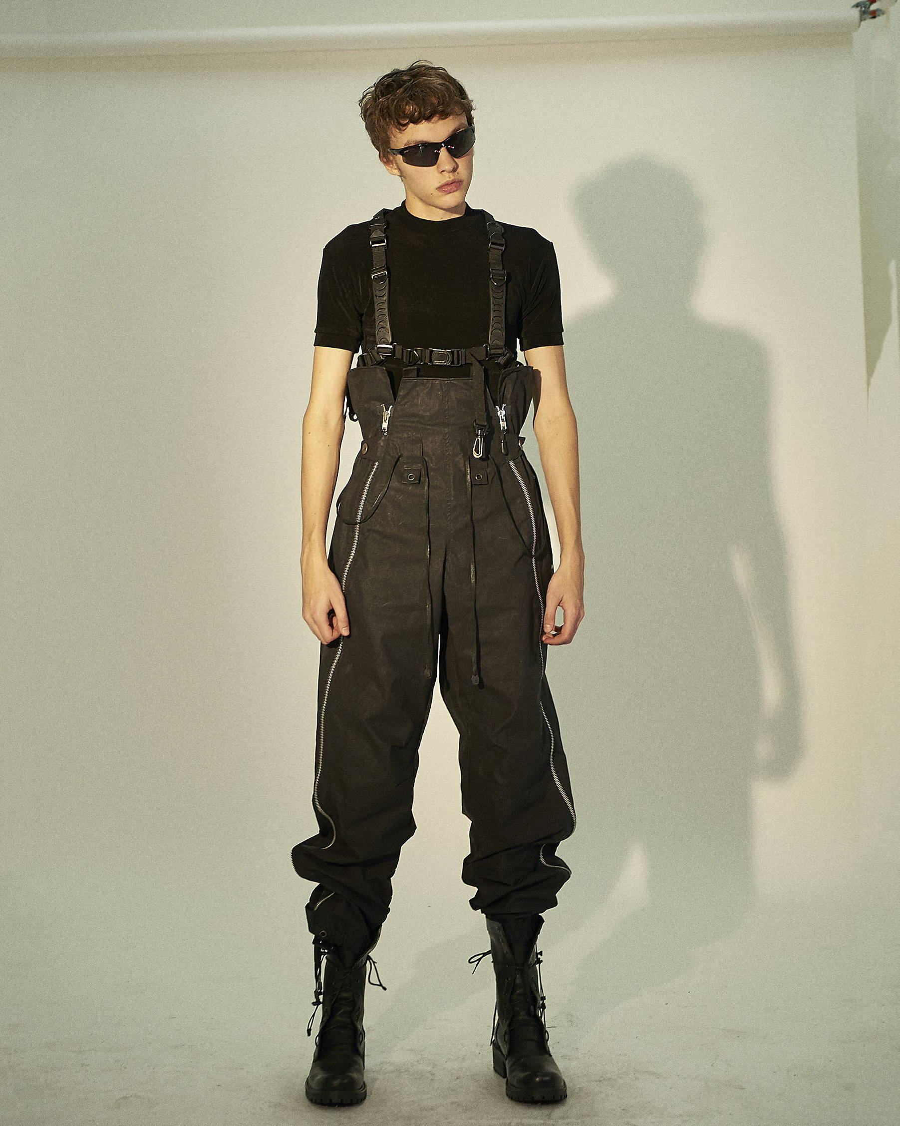 Blackmerle FW18 Waxed Cotton Trouser - Hlorenzo