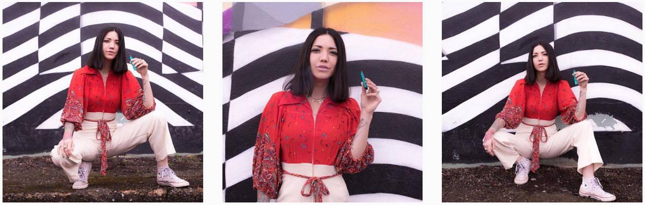KandyPens Instagram Festival Fashion RUBI Vaporizer