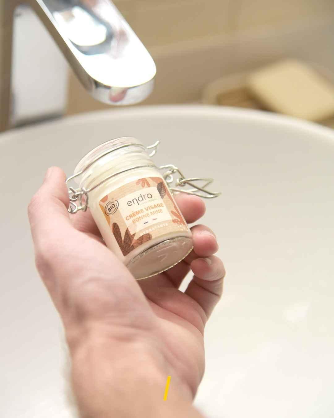 Crème visage hydratante bio - bonne mine - carotte - Endro - The Trust Society