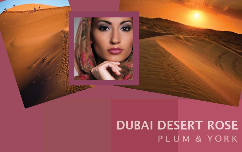 Dubai Desert Rose lipstick by Plum & York