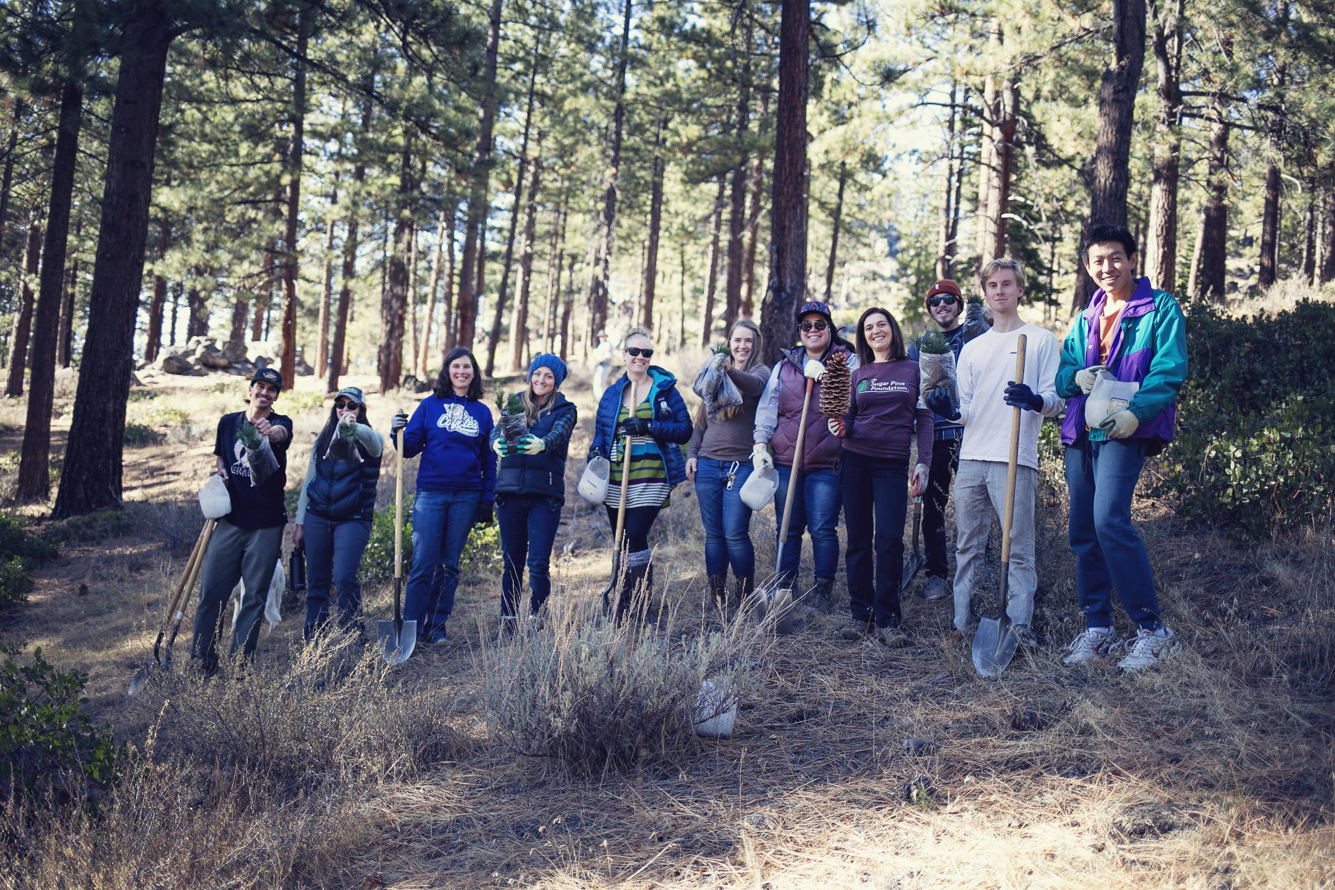 One Tree Planted-Gruppenfoto