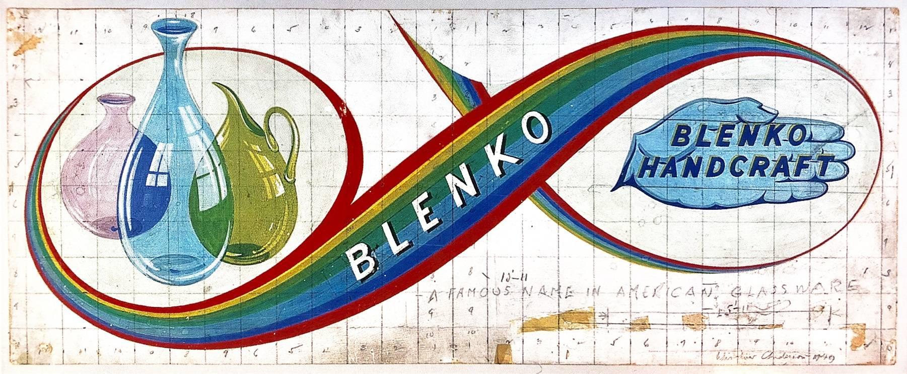 blenko glass company vintage blenko product catalogs