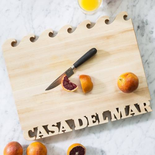 Personalized Cutting Board- Waves