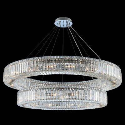 Allegri Lighting Crystal Pendants, Chandeliers, Wall Sconces, & Ceiling Lights -  Rondelle Collection