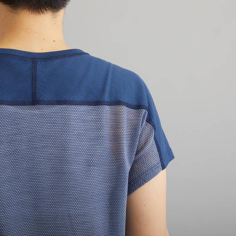 NORRONA(ノローナ)/ビティホーン ウールTシャツ/ネイビー/WOMENS