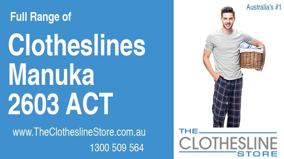 New Clotheslines in Manuka ACT 2603