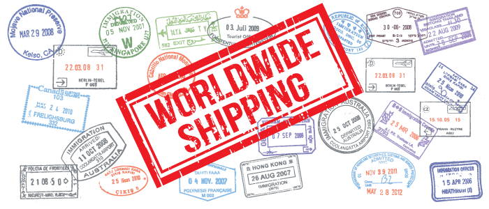 worldwide shipping of electronic cigarettes