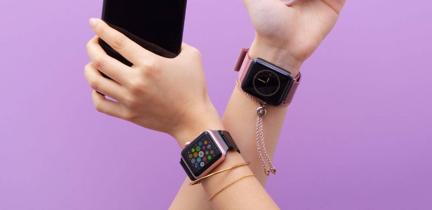 Apple Watch Band: Sports, Steel, and Leather Bands of your choice!