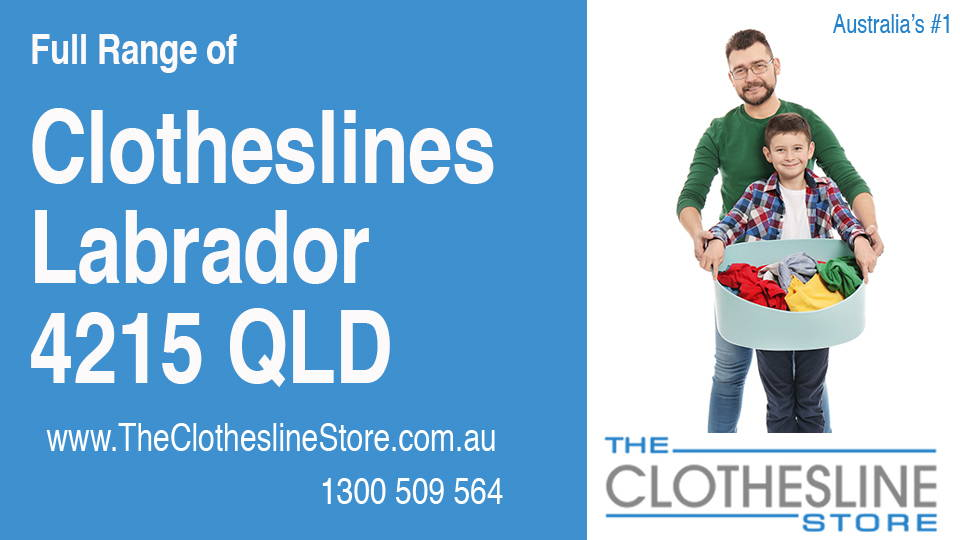 New Clotheslines in Labrador Queensland 4215