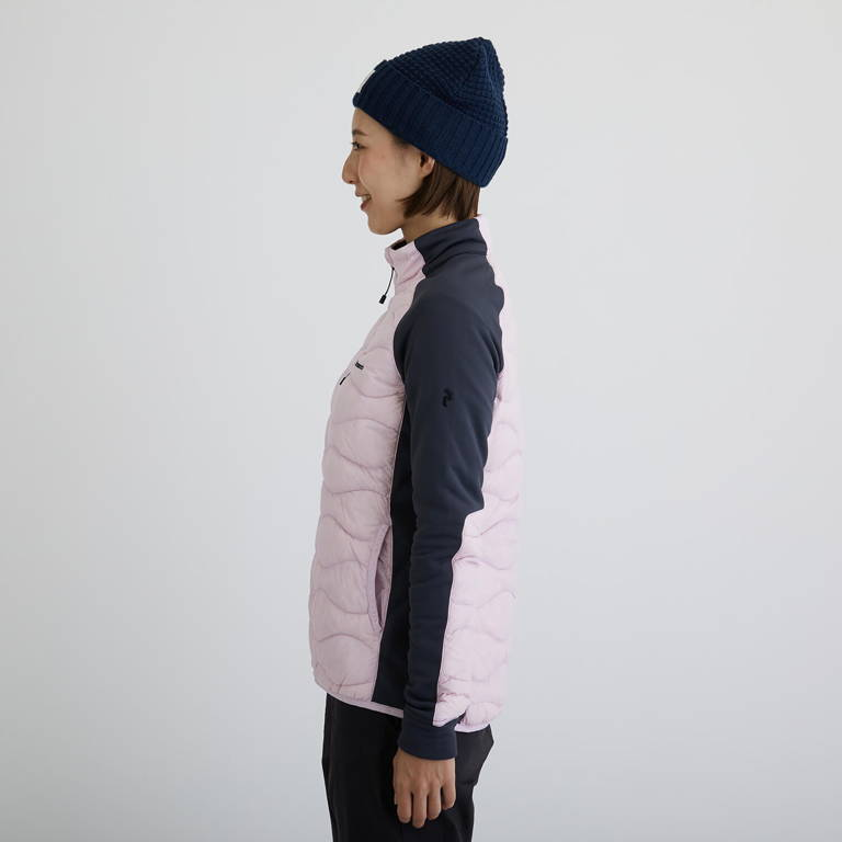 PeakPerformance(ピークパフォーマンス)/ヘリウムハイブリッドジャケット/ピンク/WOMENS