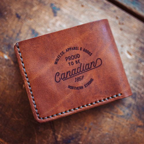 Wolfe Co Leather Wallet