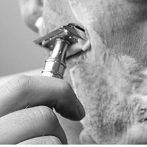 Shaving with a Safety Razor