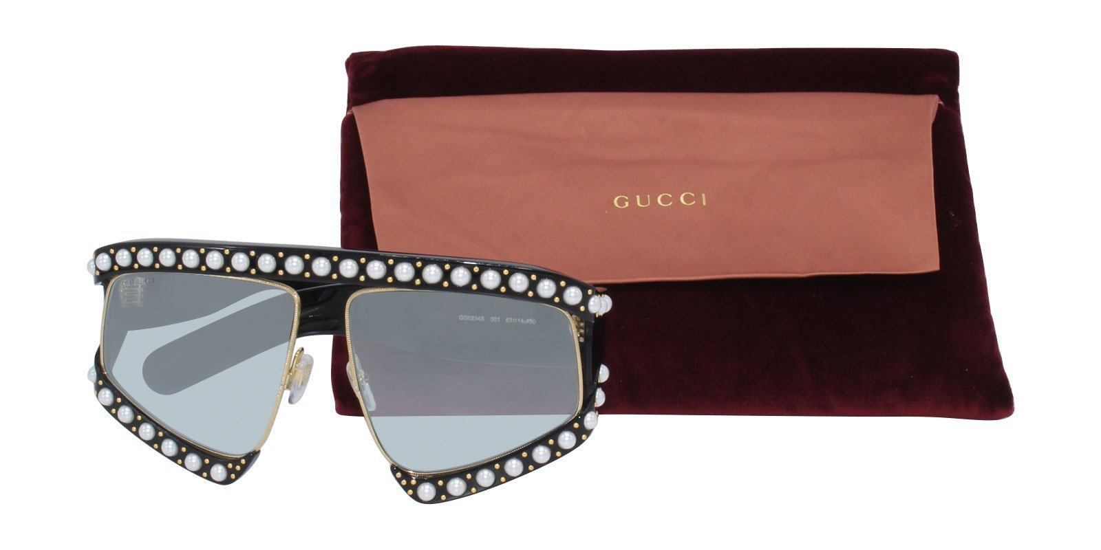 0b459bcc95 Nicki Minaj Wearing Gucci GG0234S Sunglasses In The Light Is Coming ...