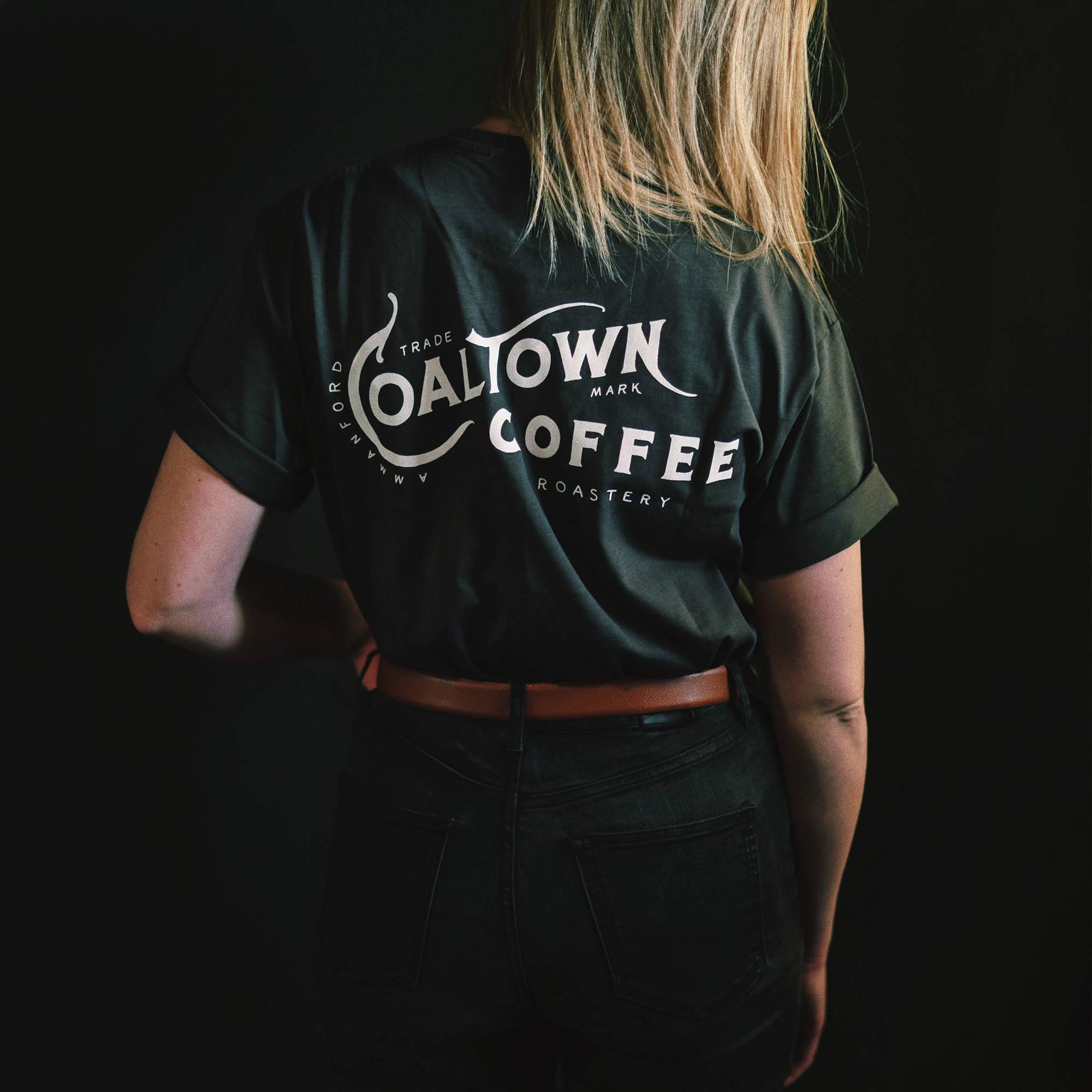 Coaltown Roastery t-shirt Dark Grey