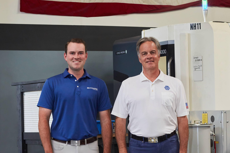 Robert Bettinardi and Sam Bettinardi at Tinley Park, IL HQ