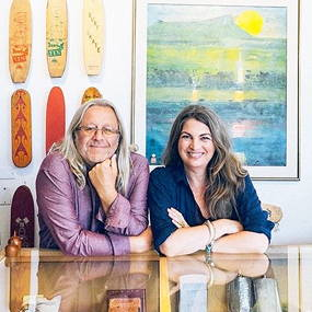 Wayne and Donna Gunther, owners of Surfing Cowboys