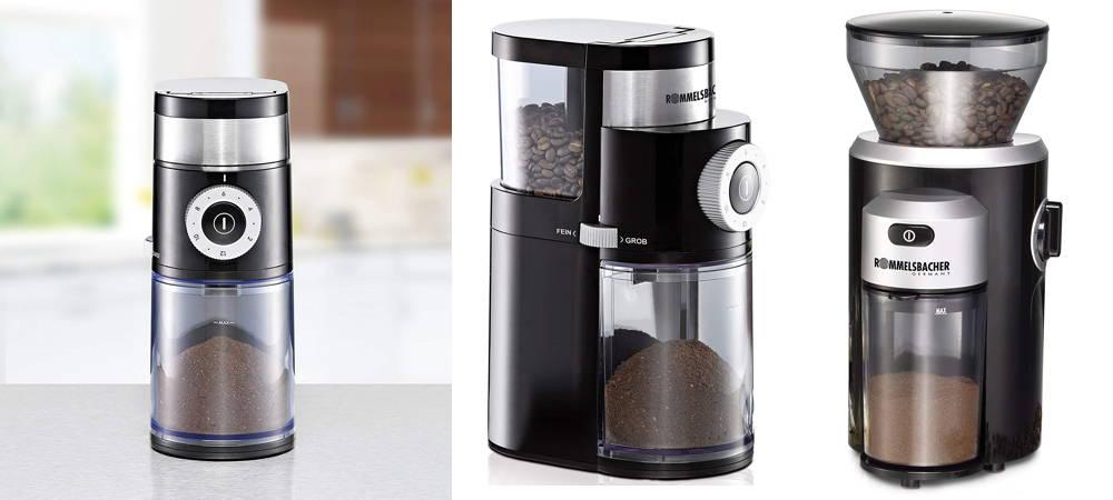 Elektrische Kaffeemühle - Rommelsbacher