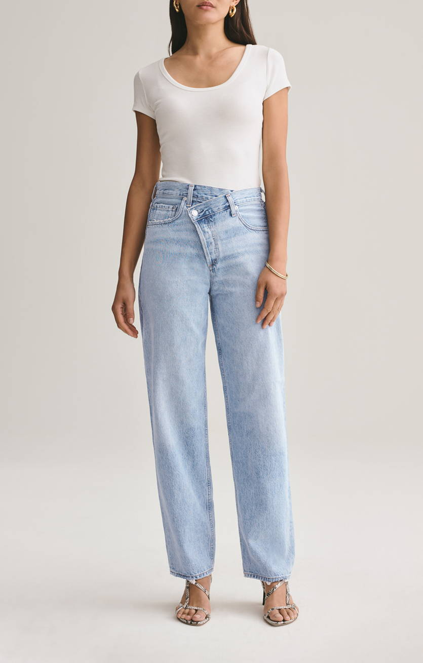 criss cross jean suburbia front