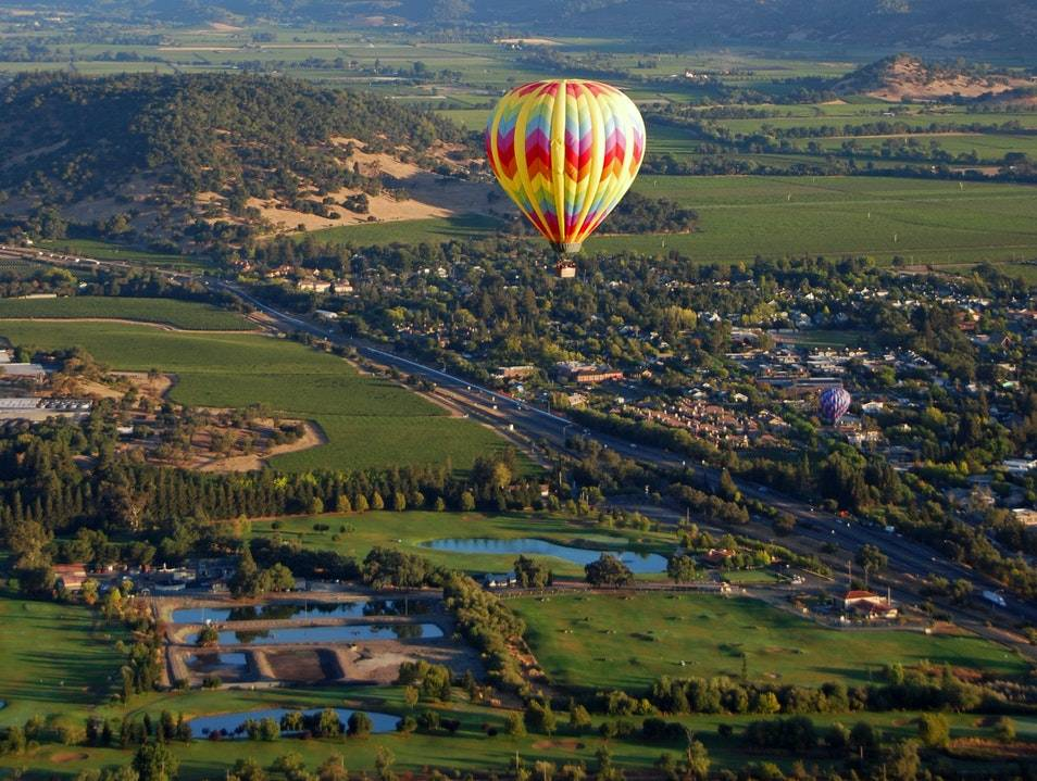 Balloon Ride over Napa Valley