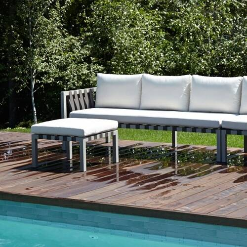 Outdoor Lounge Furniture - Ottomans