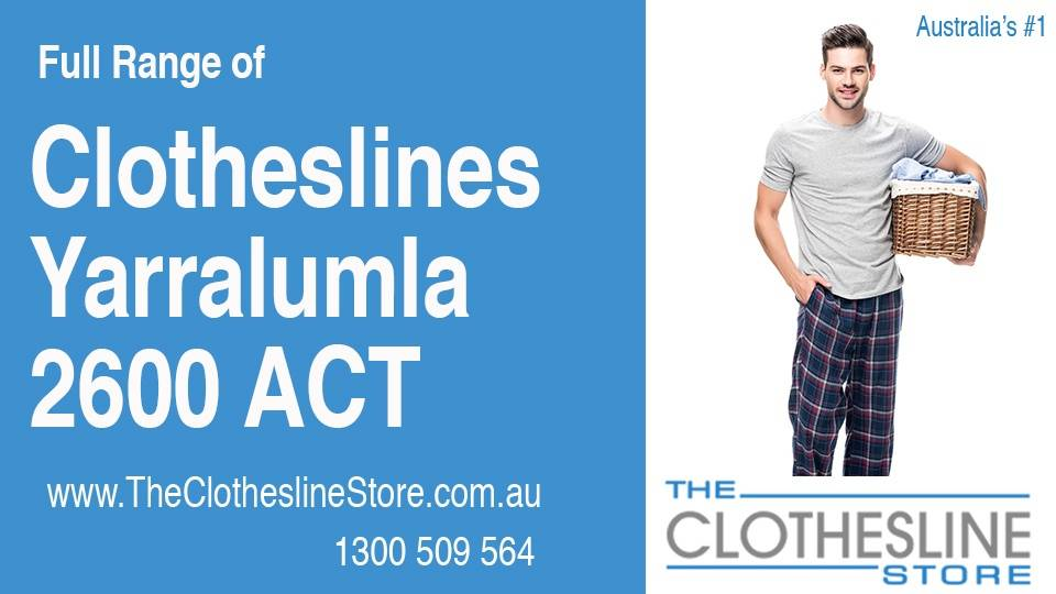 New Clotheslines in Yarralumla ACT 2600
