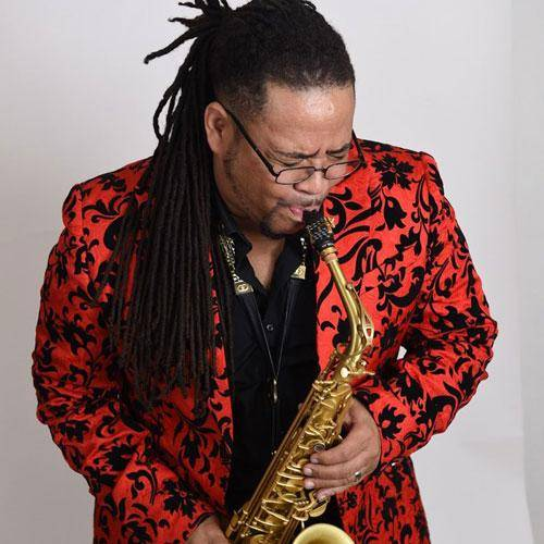 Saxophone player Eddie Baccus Jr. endorses Key Leaves