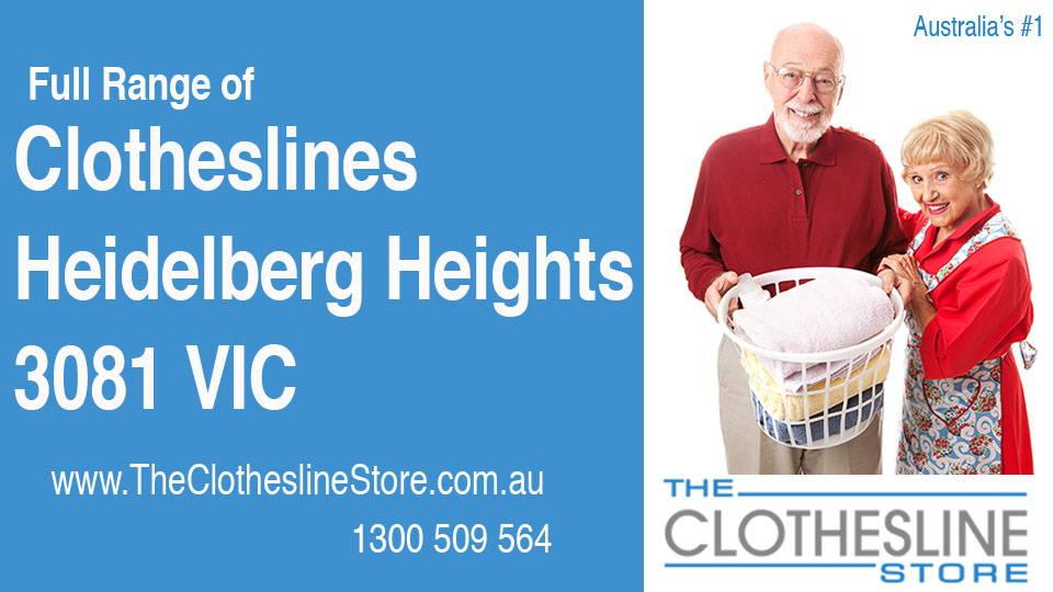 New Clotheslines in Heidelberg Heights Victoria 3081
