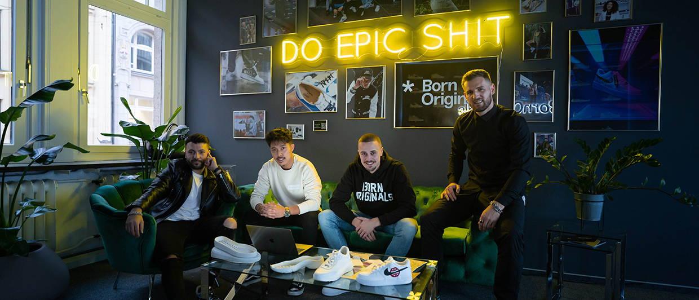 Part of Team Born Originals in Showroom