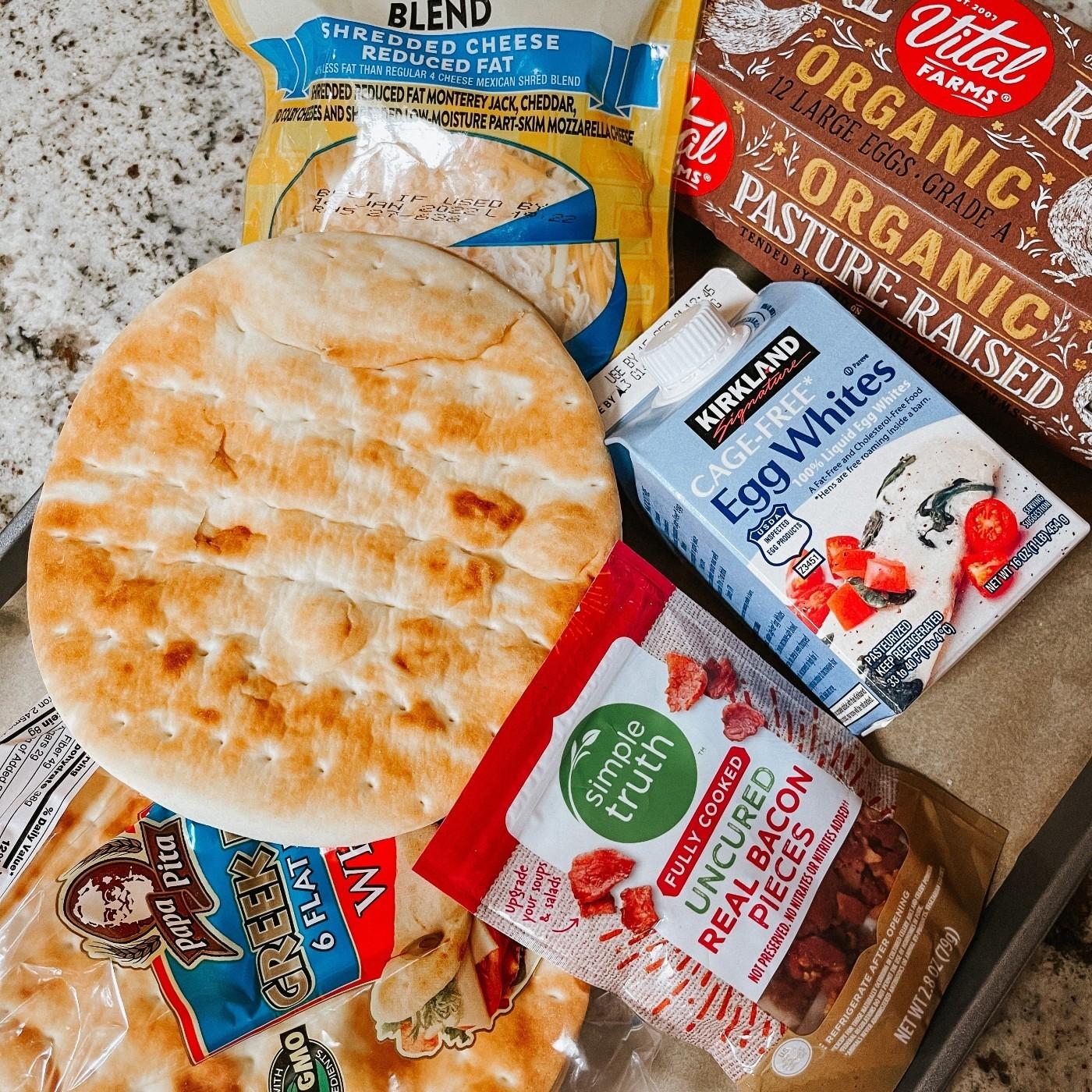 High Protein Breakfast Pizza Ingredients