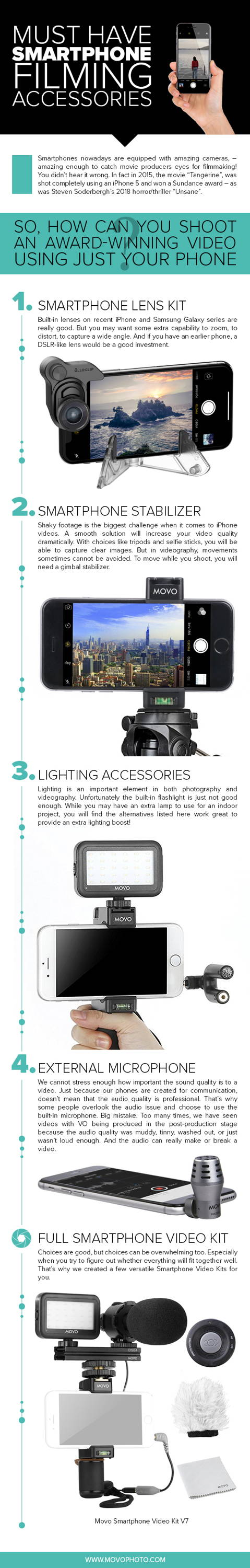 Must Have Smartphone Filming Accessories